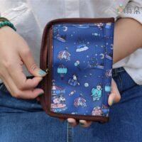 U225 格紋旅行手冊 護照套 雨朵防水包 雨朵防水包 bag 7