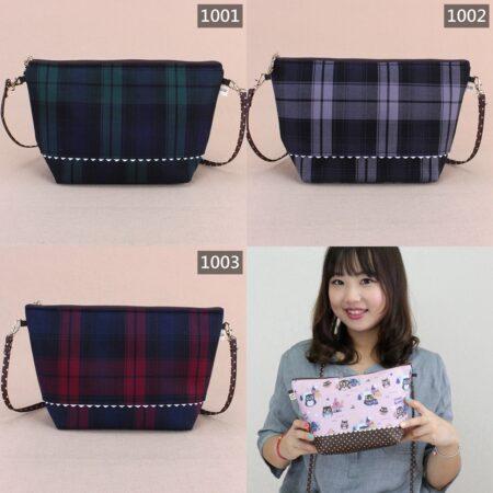 U239 格紋大化妝包+揹 雨朵防水包 ◍ 化妝包 bag