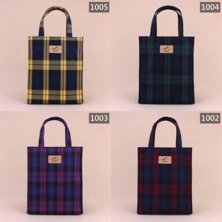 U079 格紋中直立文件袋 雨朵防水包 雨朵water-proof bag bag