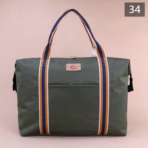 U263 旅行袋 素色行李袋 雨朵防水包 雨朵water-proof bag bag 26
